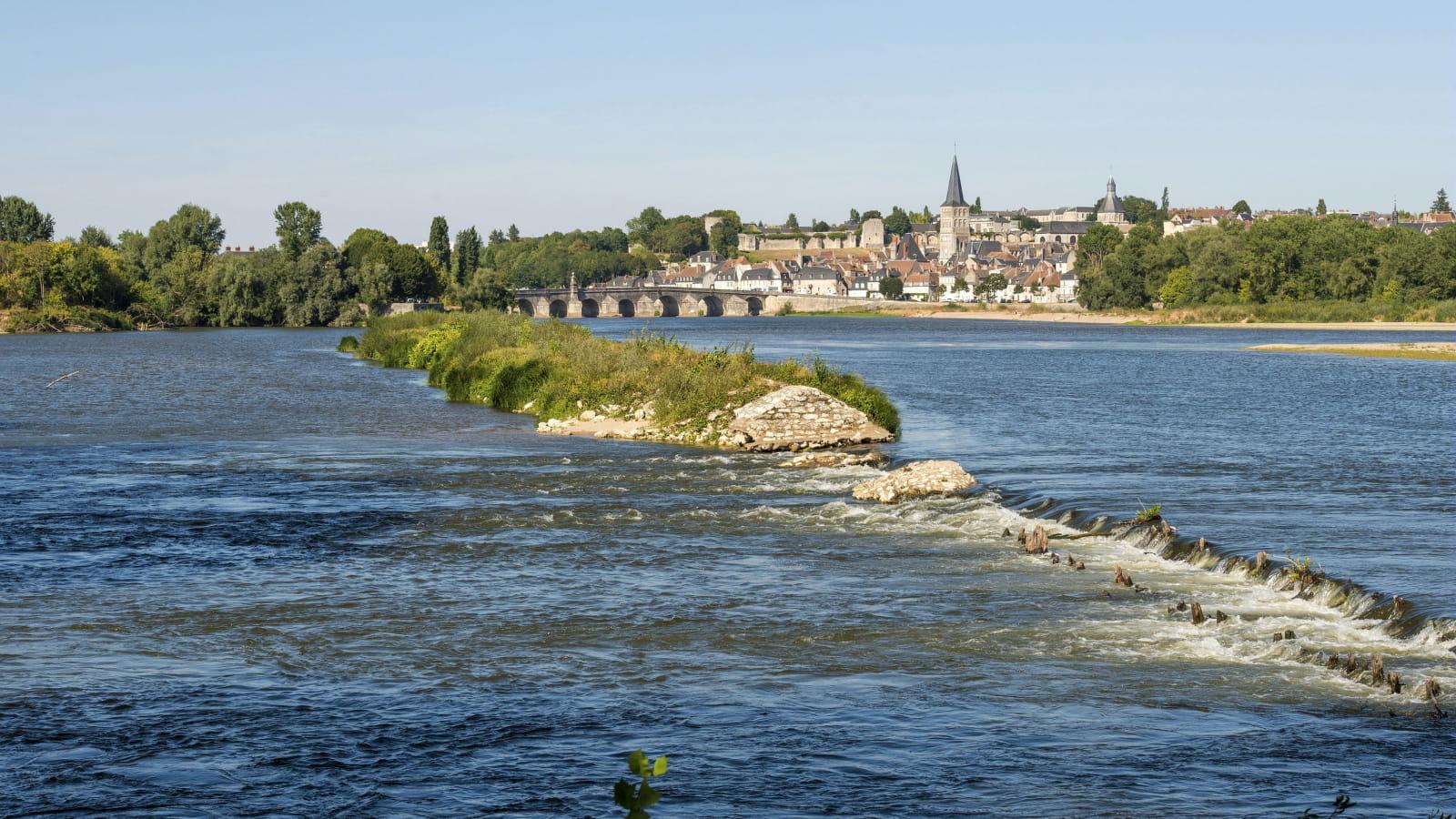Bord de Loire à La Charité