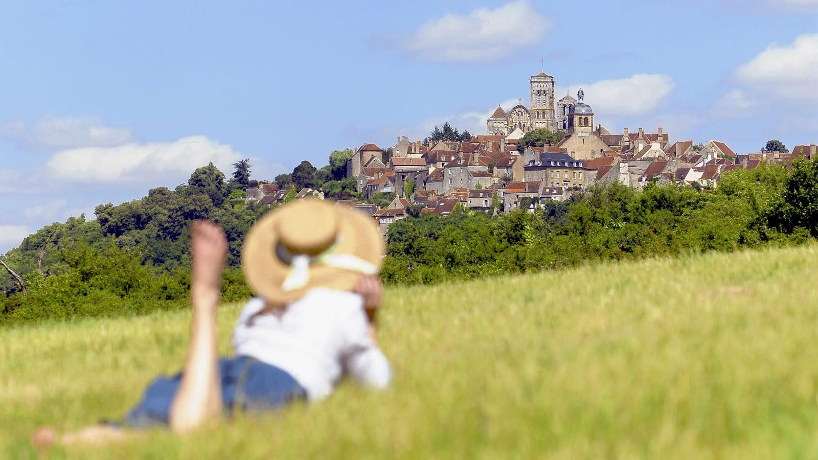 Vue de Vézelay