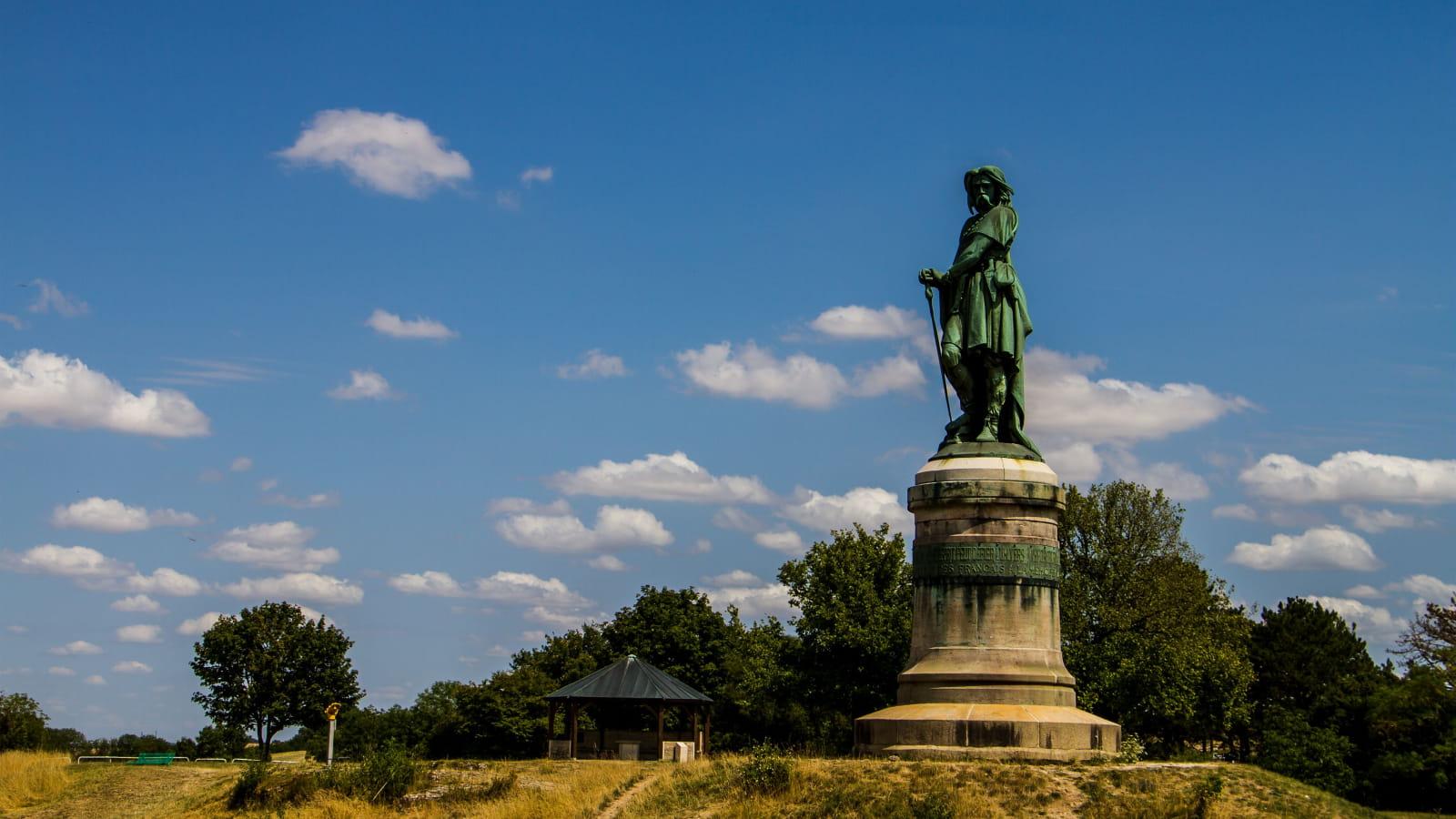 Statue de Vercingétorix à Alésia