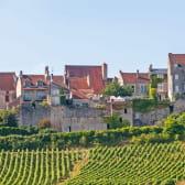 Village de Vezelay classé à l'UNESCO