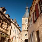 Visite du centre d'Avallon