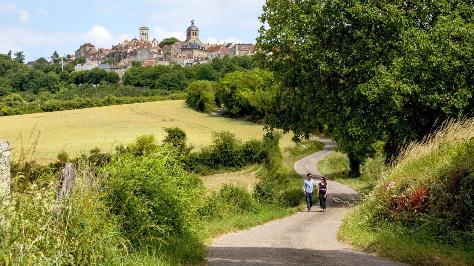 Balade autour de Vezelay
