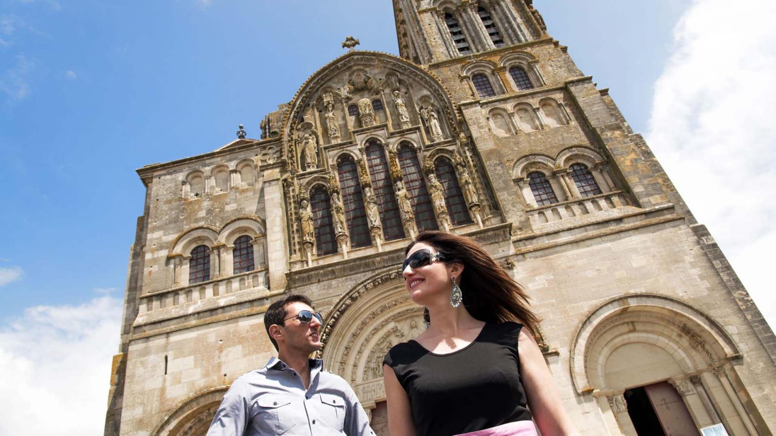 Basilique de Vézelay classée à l'UNESCO