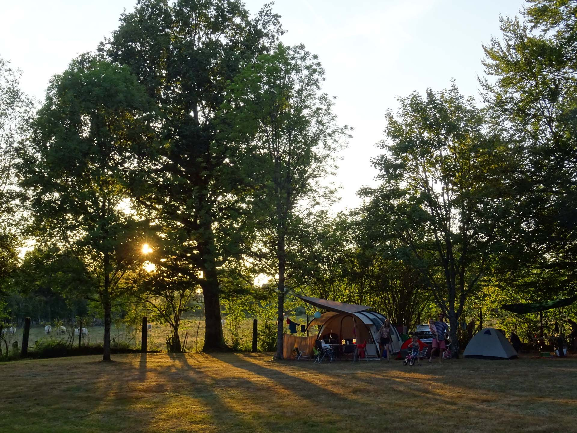 Camping les Mésanges dans le Morvan