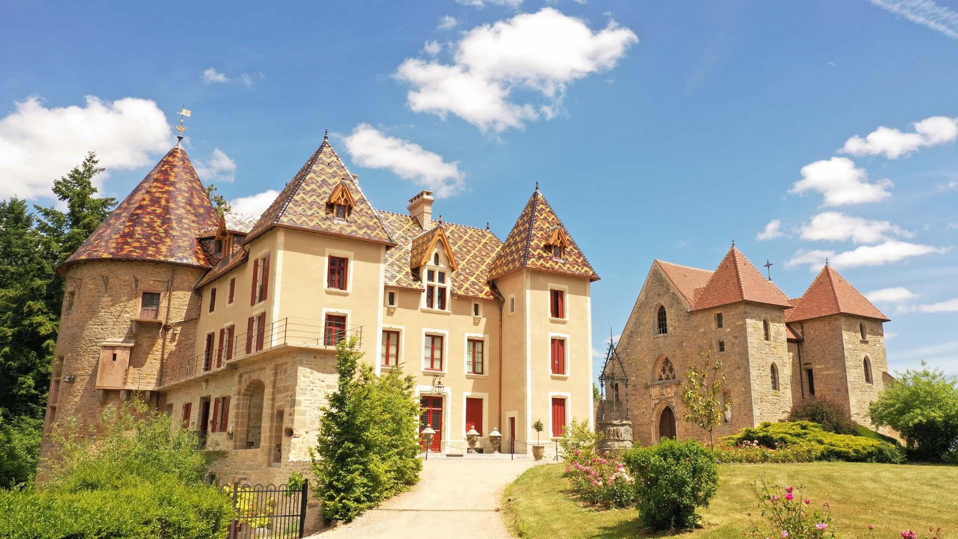 Dormir au château de Couches