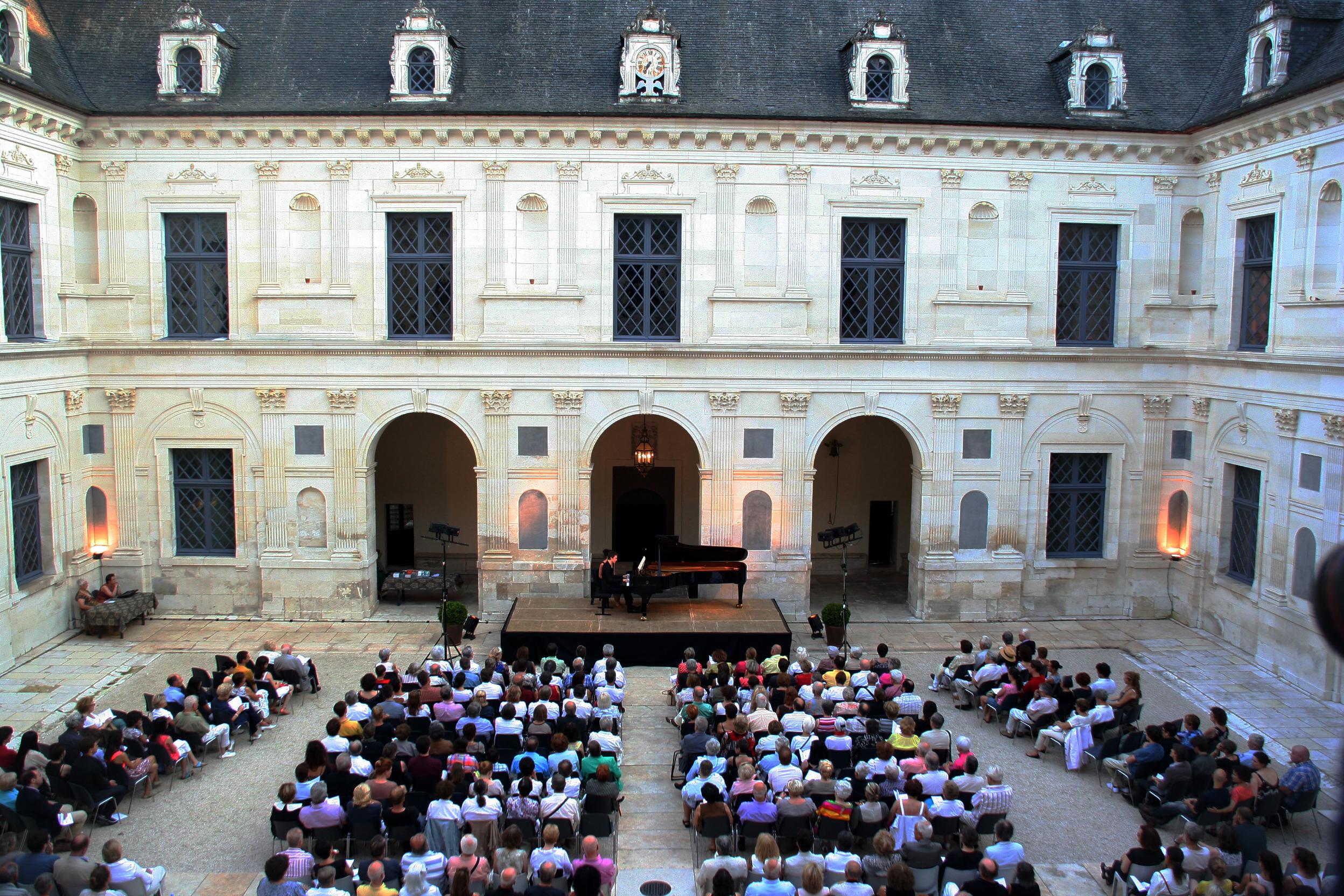 Concert au château d'Ancy-le-Franc