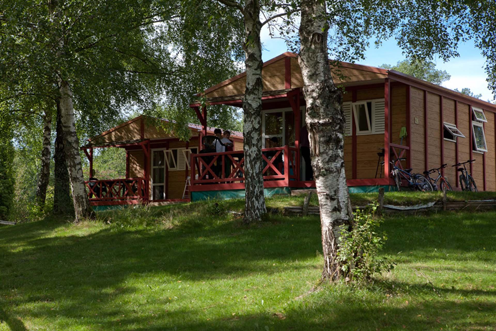 Camping dans le Morvan, la Fougeraie