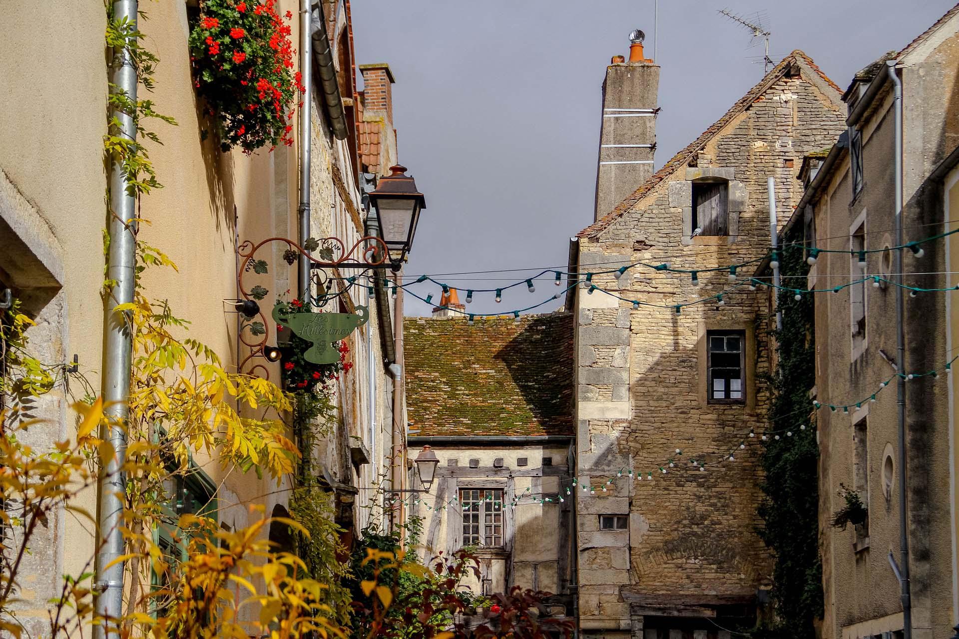 Village classé de Noyers-sur-Serein