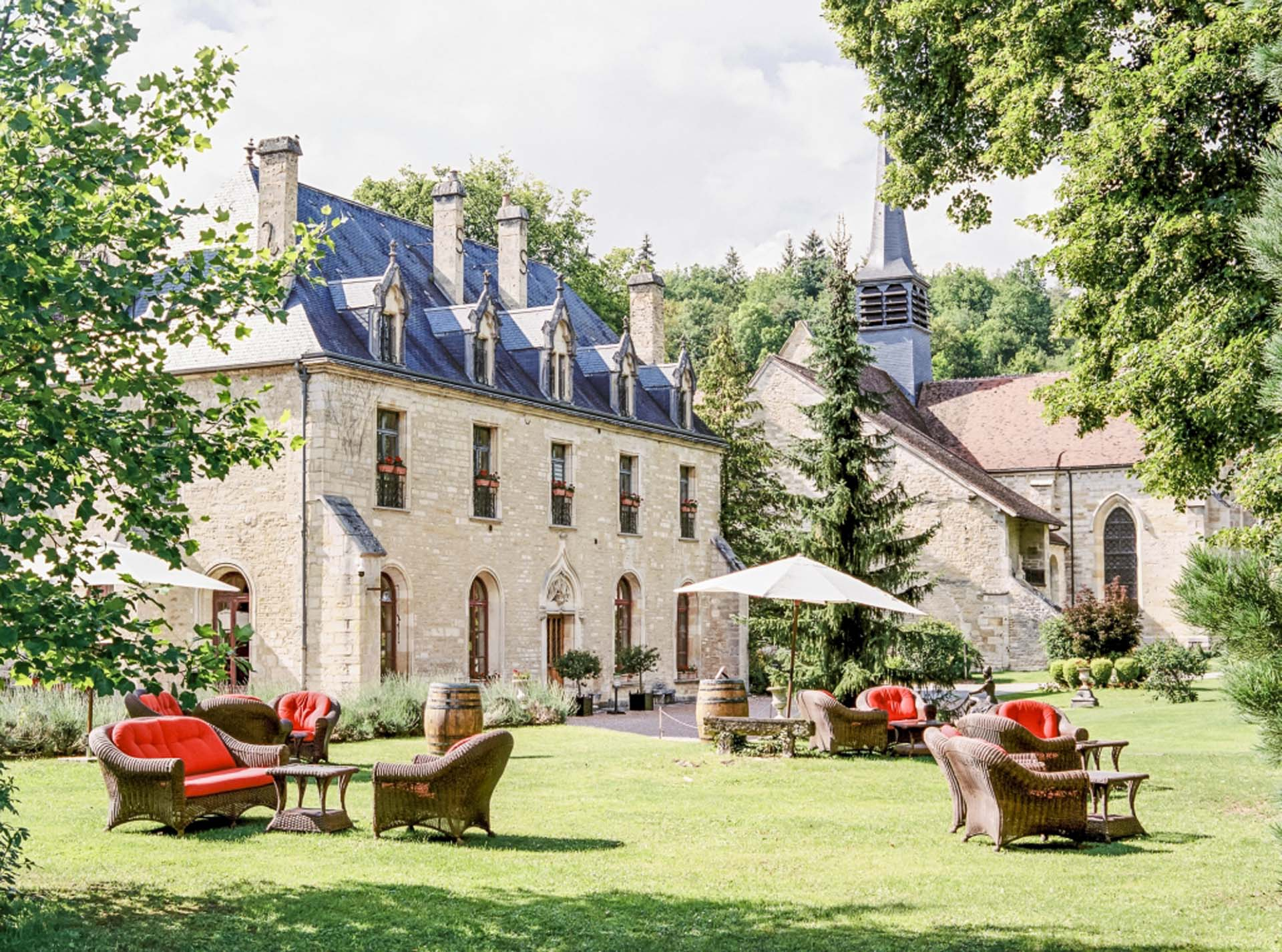 L'Abbaye de la Bussière et son parc