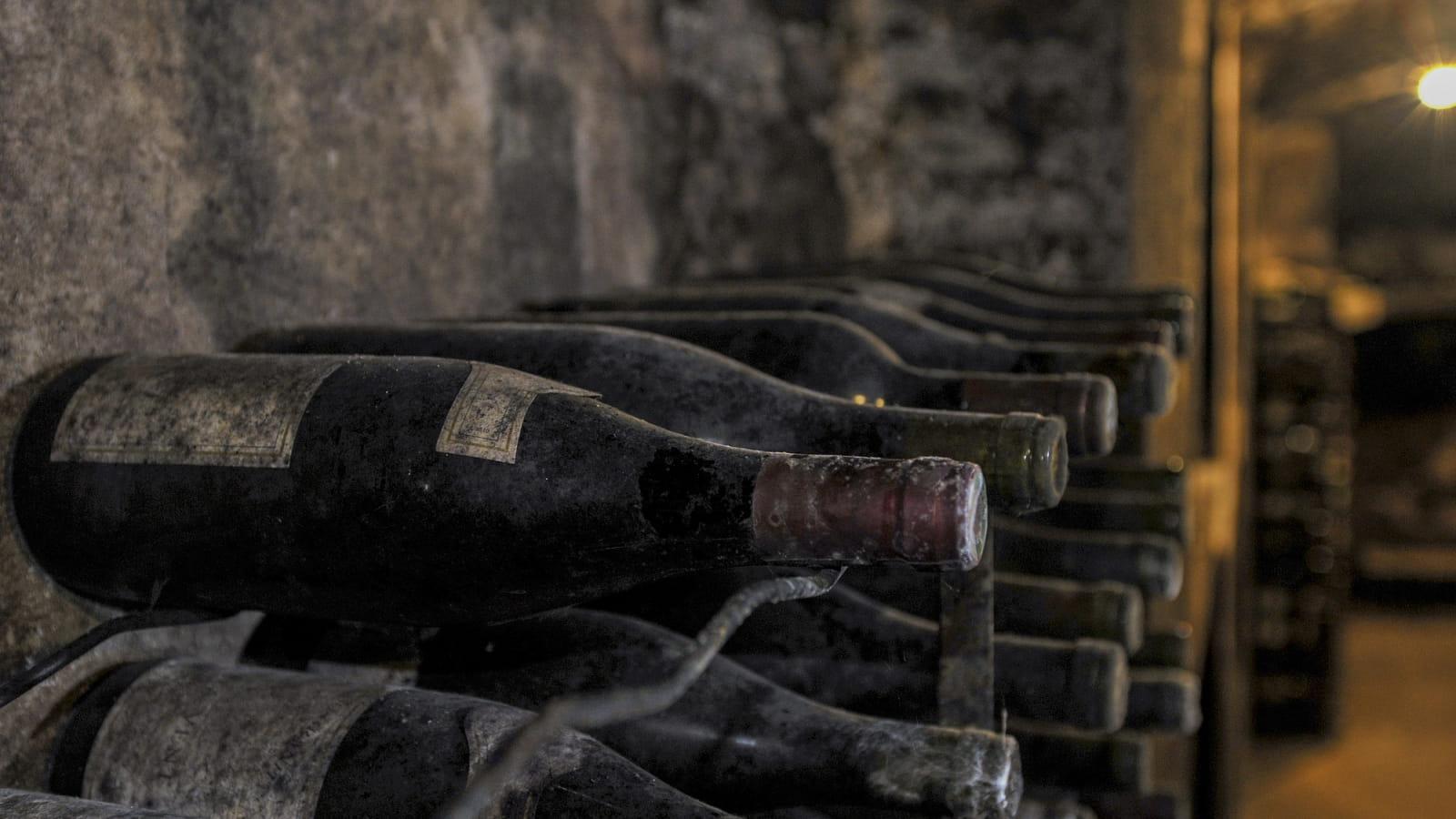 Bouteilles de vins Bourgogne
