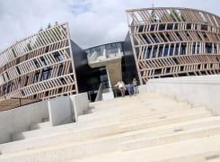 L'architecture insolite du Muséoparc Alésia