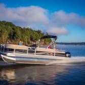 Sortie bateau sur la Saône près de Chalon-sur-Saône