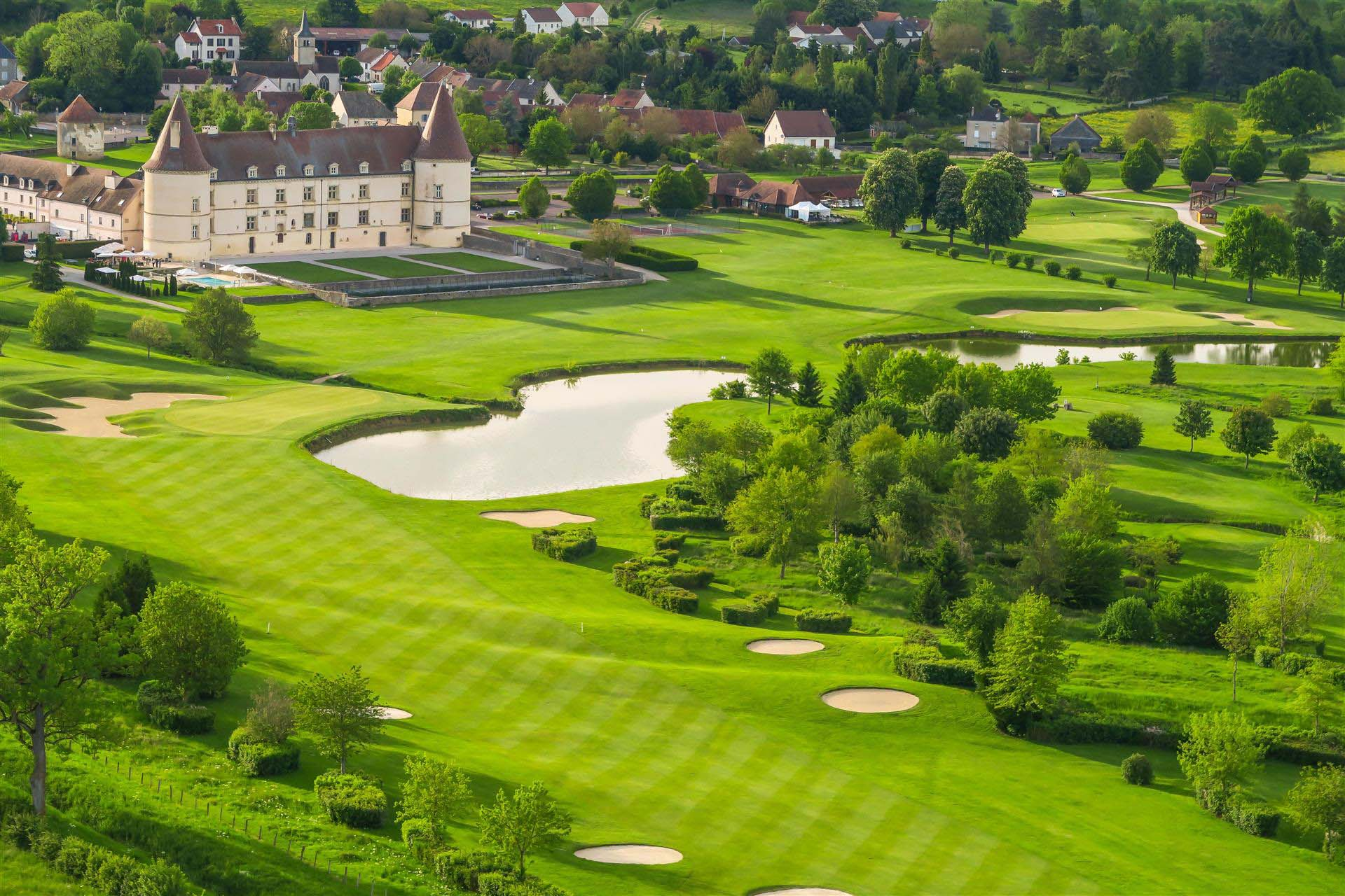 Le château de Chailly et son golf