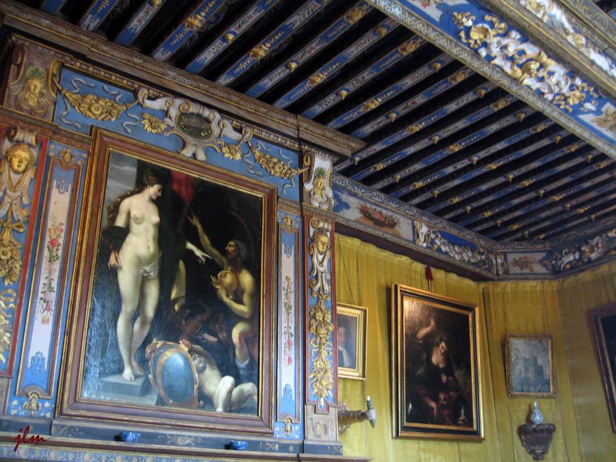 Les appartements du Château de Cormatin