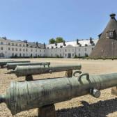 Château de la Verrerie et l'un des fours