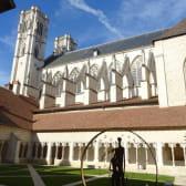 Cloître de la cathédrale Saint-Vincent à Chalon-sur-Saône