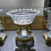 Pièces de verrerie au Musée de l'Homme et de l'Industrie