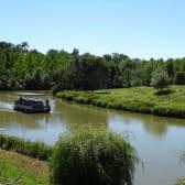La Truchère-bateau-promenade sur la Seille-Saône-et-Loire
