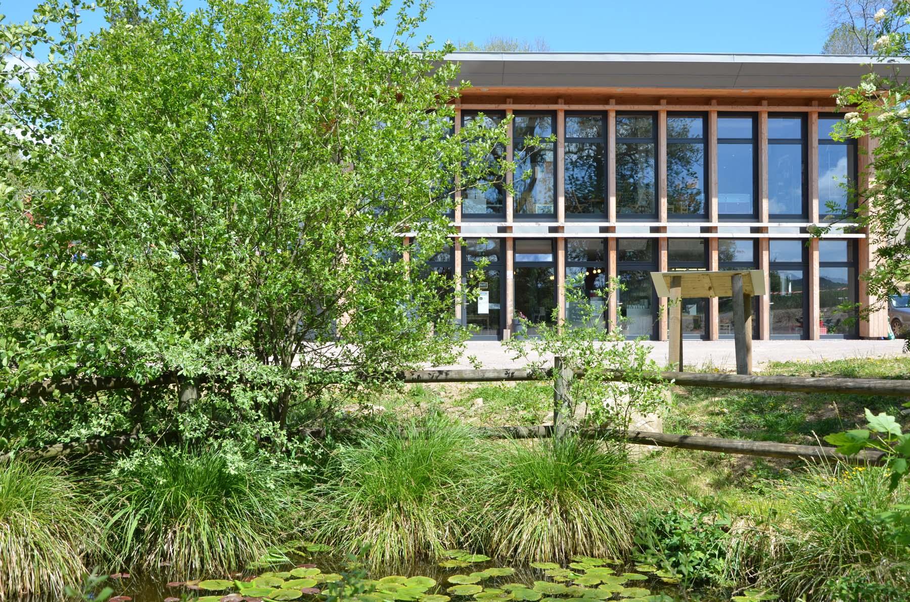 Maison du parc naturel régional du Morvan