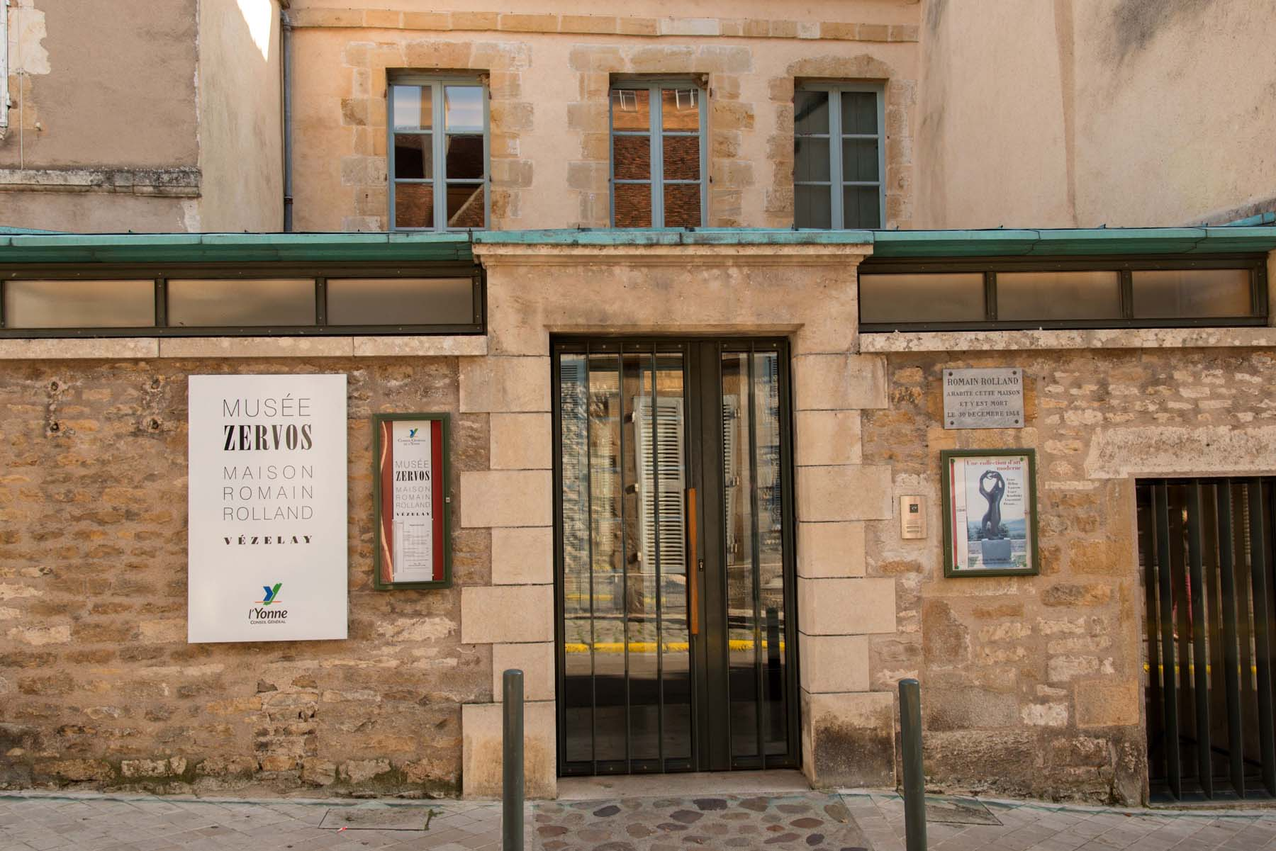Musée Zervos à Vezelay