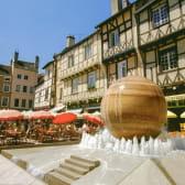 Place Saint-Vincent à Chalon-sur-Saône