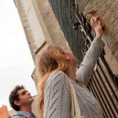 La chouette, porte bonheur sur facade de l'église Notre-Dame de Dijon