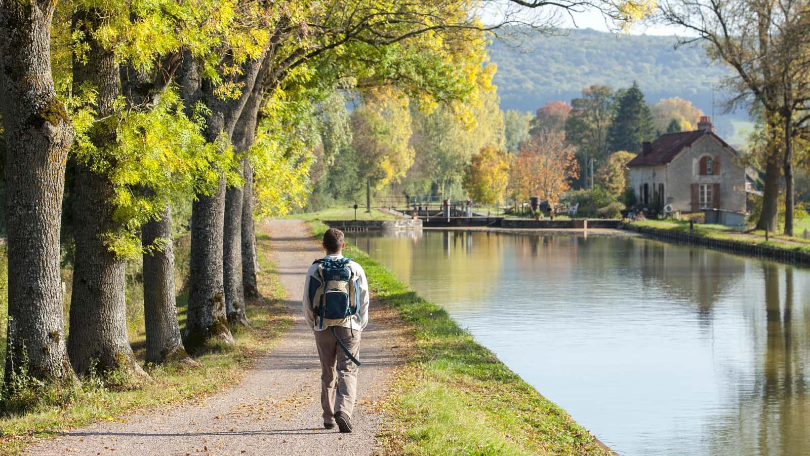 Randonnée sur le canal de Bourgogne
