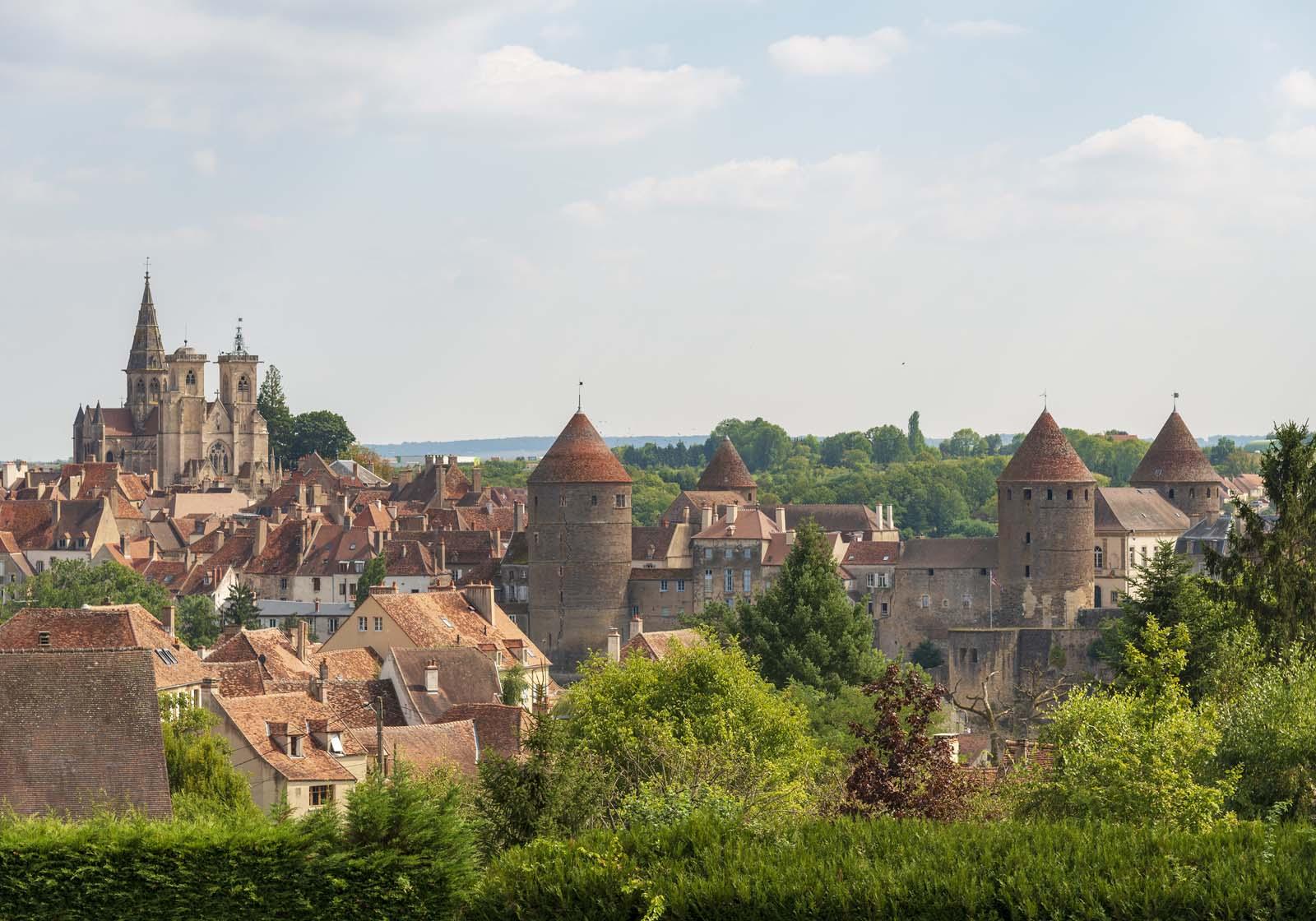 village de Semur-en-Auxois