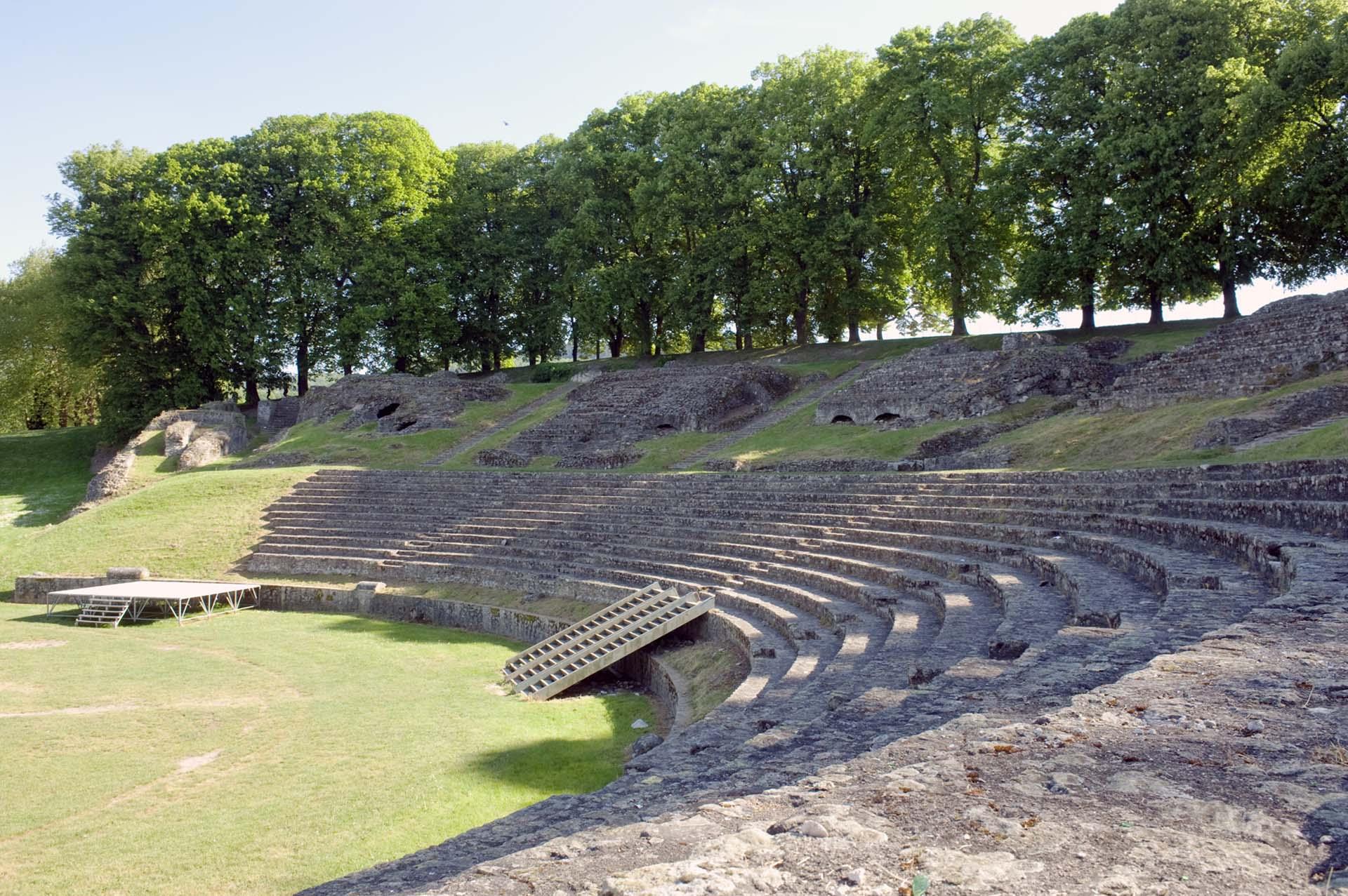 Théâtre antique d'Autun
