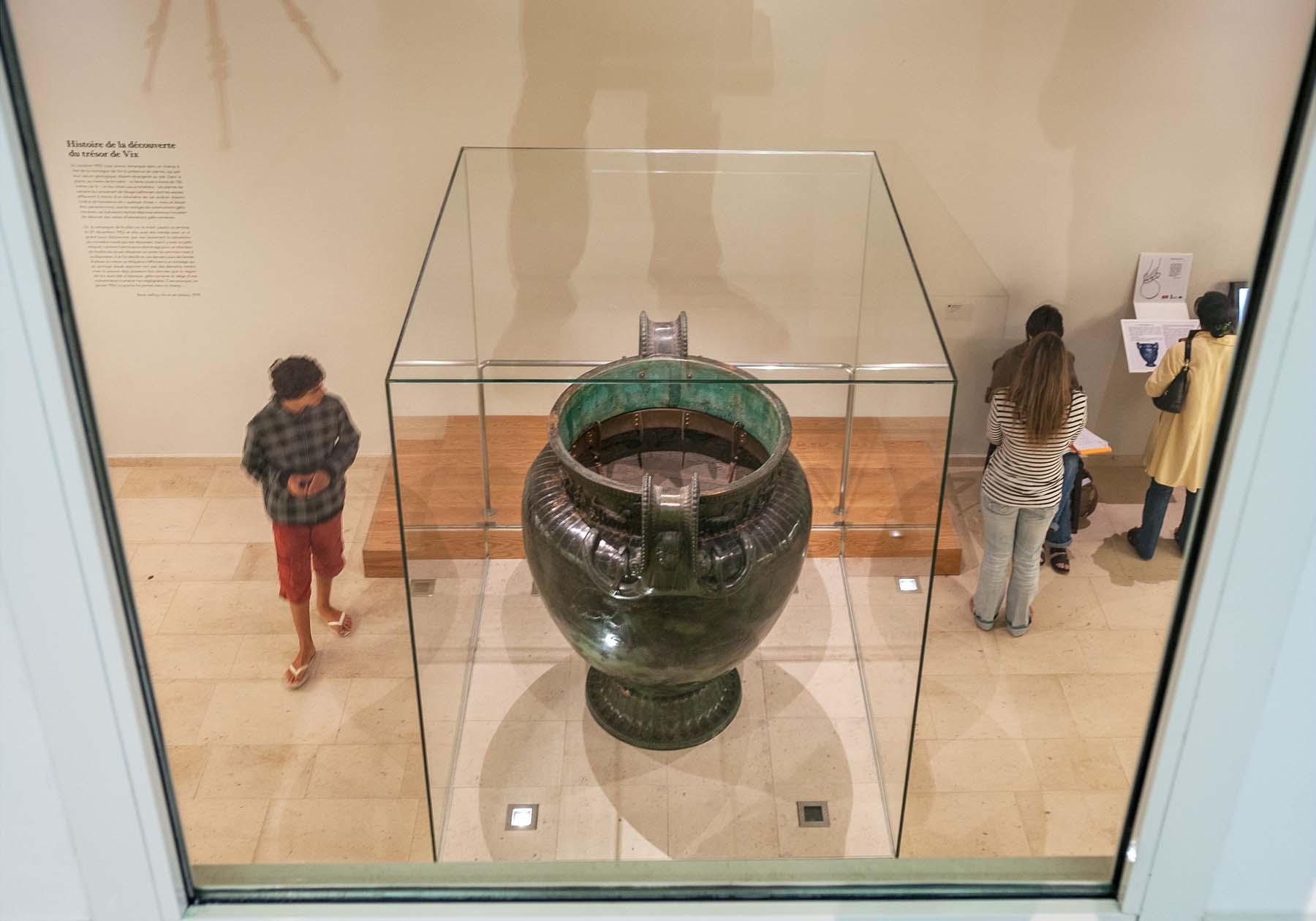 La vase de Vix au musée du Chatillonais