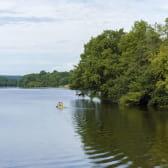 Canoë sur le Lac de Crescent