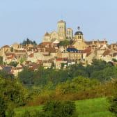 Vue de la colline de Vézelay