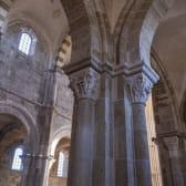 Interieur de la basilique de Vézelay