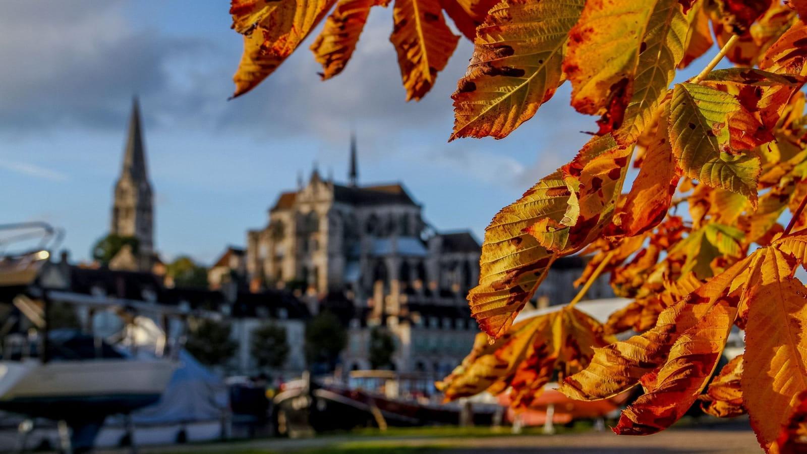 Vue sur Auxerre