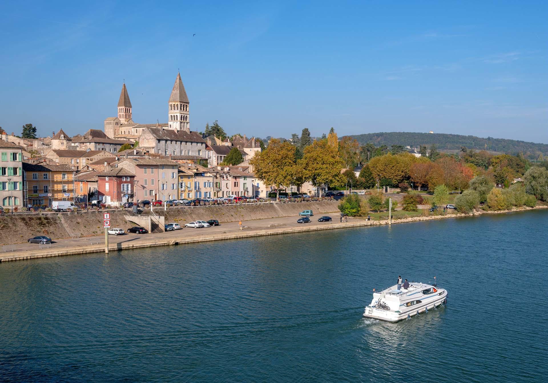Slow tourisme en bord de Saône à Mâcon