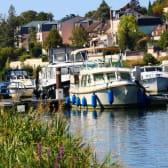Bateaux à Joigny