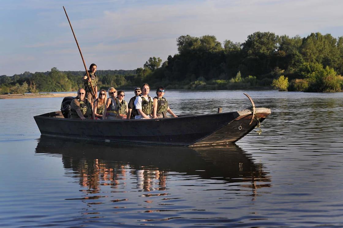 Sortie bateau au fil de la Loire