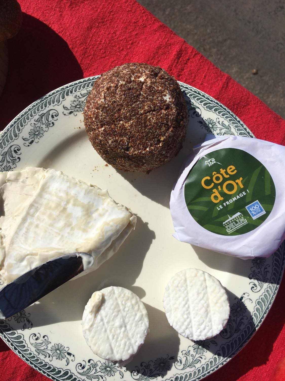 Le bien nommé fromage 'Côte d'Or'
