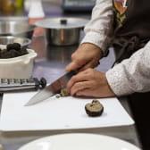 Préparation des truffes