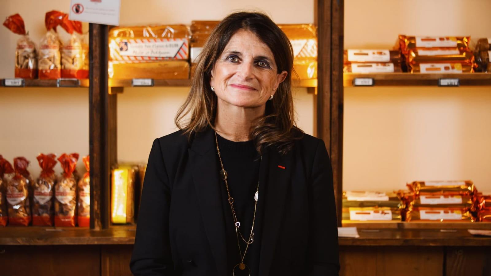 Catherine Petitjean, fabricante de pains d'épices