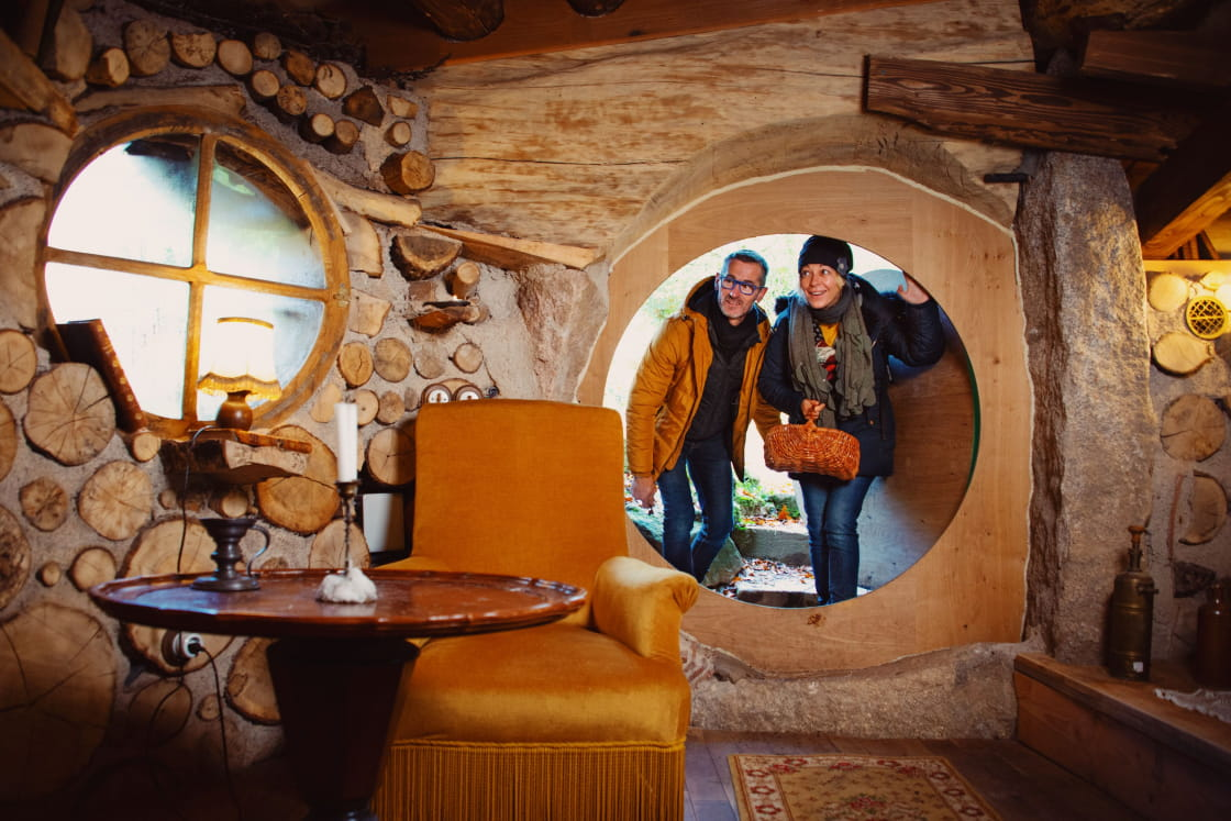 Maison de Hobbit Domaine de la Pierre Ronde