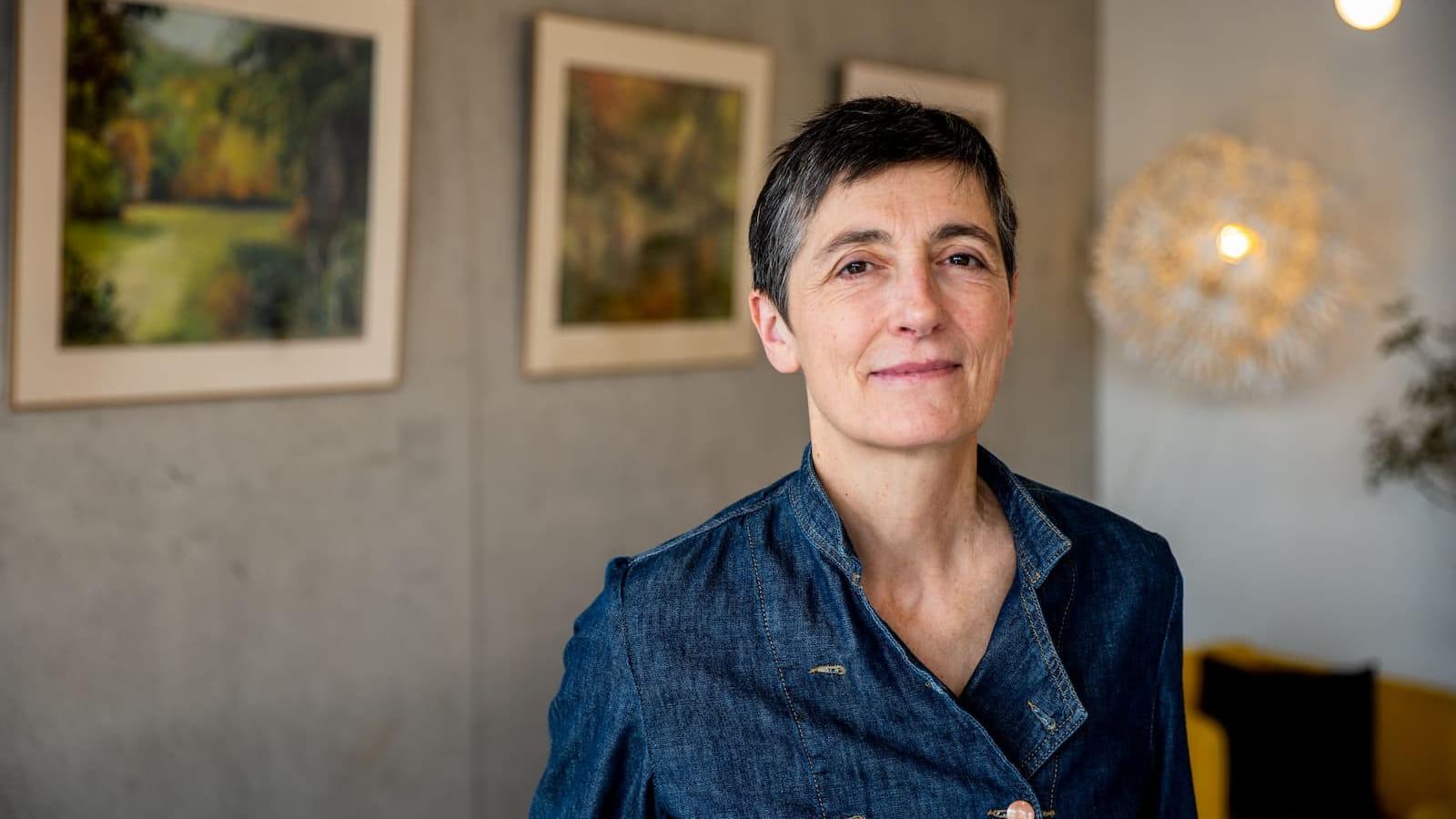 Anne Sophie Gamet, chef du restaurant le Bistrot du Parc