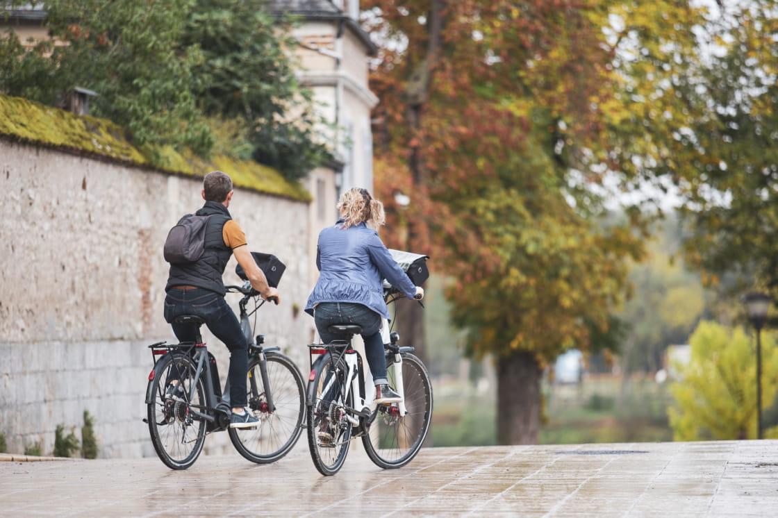 Vélo au bord de la Loire