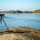 Observation d'oiseaux sur le bec de l'Allier